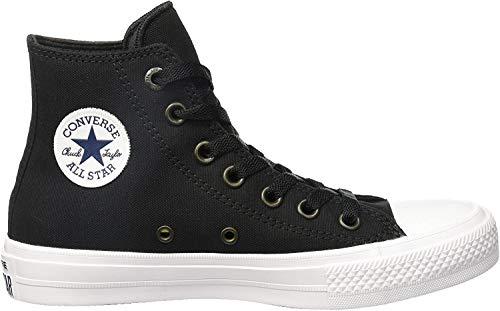 Converse Unisex-Erwachsene Ct Ii Hi Hohe Sneaker, Schwarz (Black/White/Navy), 38 EU