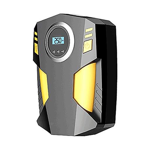 Qilo La Bomba del compresor de Aire portátil, Indicador Digital del neumático del 12V DC eléctrica con Flujo de Aire más Grande 35L / Min, luz del LED