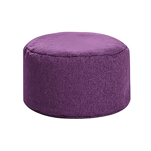 AJIUHE Small Foot Stool Velvet Fabric Footrest Ottoman Stool Non-Skid Plastic Legs Modern Foot Rest for Under Desk at Work Memory Foam for Office Chair & Gaming Chair