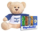 Hug-a-BooBoo Super Comfort Pack with Mini Plush Hug Teddy Bear and 8CT Premium Bandages Travel Pack