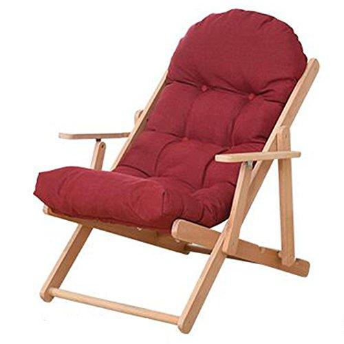 Xiaolin Paresseux canapé Chaise Longue Chaise Siesta Pliante Chaise Longue âgées Chaise Chaise de Balcon (Couleur : 03)