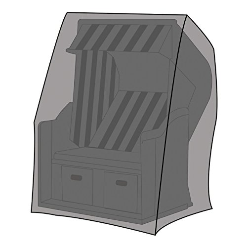 Lex Deluxe Housse de Protection pour paniers de Plage XL 155 x 105 x 170/135 cm
