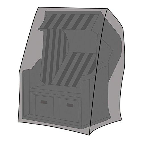 LEX Schutzhülle Deluxe für Strandkörbe XL, 155 x 105 x 170/135 cm, Tragetasche
