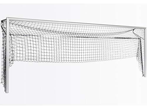 Haspo 2 Stück Bodenrahmen Modell Bundesliga - für Großfeldtore - hochklappbar, untere Tortiefe/Auslage:2.00m