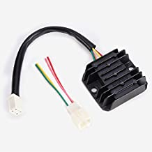 Wingsmoto Rectifier Regulator 4 Wires Voltage ATV GY6 50 150cc Scooter Moped JCL NST Taotao