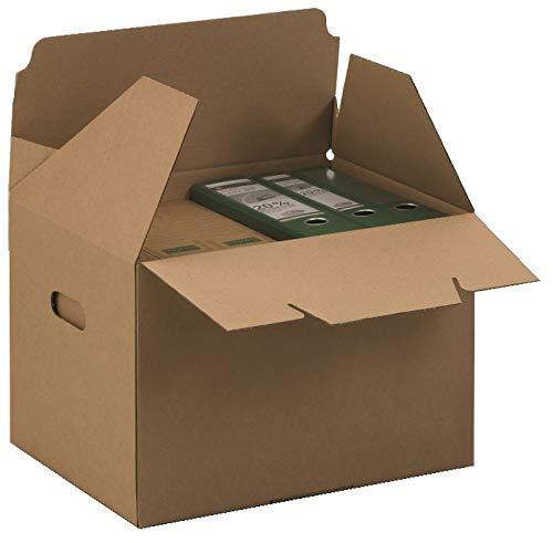 Progress PF C07.10_14_010 Transport-Container 426x 326x295 mm braun ECO ** Verpackungseinheit: 10 Stück **