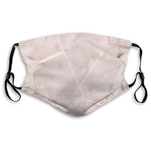 Xuwei - Máscara de gancho de oreja para adultos, color oro rosa, ideal para deportes, compras, pesca, equitación, viento y calor, etc.