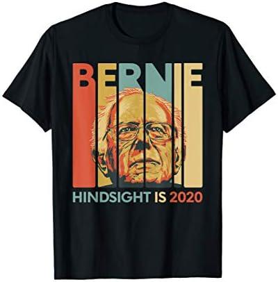 Vintage Bernie Sanders President Hindsight is 2020 T Shirt product image