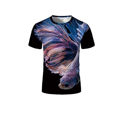 Zebra 3D Camisetas para Hombres Sexy Men 3D Camisetas para Hombres Blanco y Negro Camisetas a Rayas