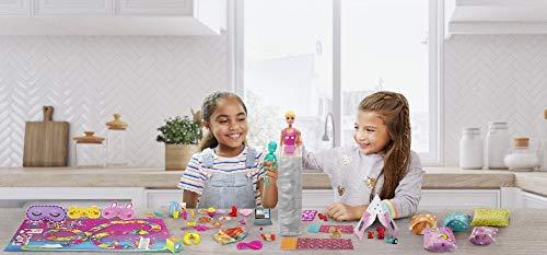Barbie Color Reveal Caja Deluxe Fiesta de Pijamas Muñecas y accesorios divertidos (Mattel GRK14)
