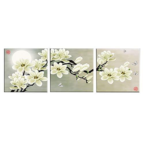 LJFYXZ Decoración De Arte De Pared Imprime Simplicidad Moderna Flores abstractas Cuadros Decorativos Oficina en casa Pared...