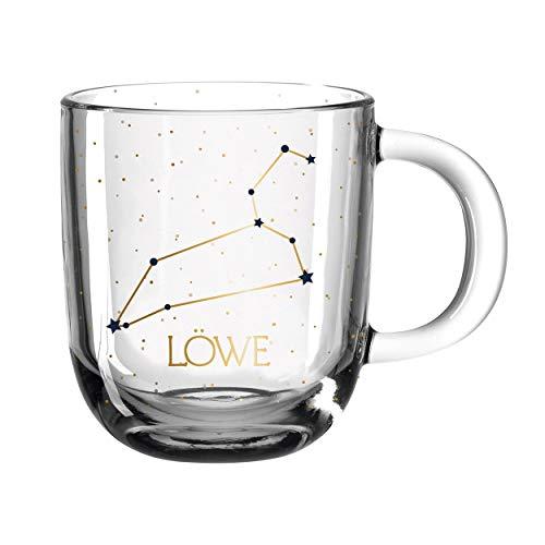 LEONARDO HOME 046534 ASTRO Tasse 400 ml Löwe, Glas
