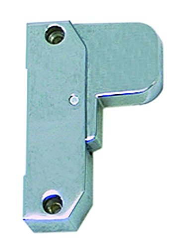 Schubladenverschluss 2087 für Kühlgerät Länge 105mm nicht abschließbar EP links Griffadapter Profilrohr Nr. 2087