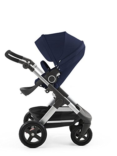 Stokke Trailz with Terrain Wheels and Foam Handle, Deep Blue