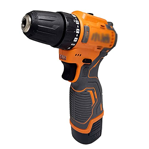 Kangl Herramienta eléctrica con 2 baterías Taladro de Pistola Cañón sin escobillas...