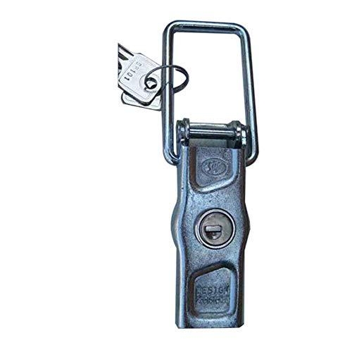 Cierre Con Llave - Anclaje 70 mm, cerradura cerrojo de palanca para remolque