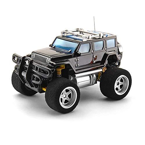 ADLIN Control Remoto de Coches, Buggy RC Car 2.4Ghz 4Wd Alta Velocidad Toda la dirección Duro con 4 Canales de Control Remoto, 1: 18 Monster vehículos de Juguete camión En 3 años hasta Kid (Remote Co