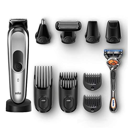 Braun Tondeuse à barbe 10 en 1 MGK7920 TS pour homme,...