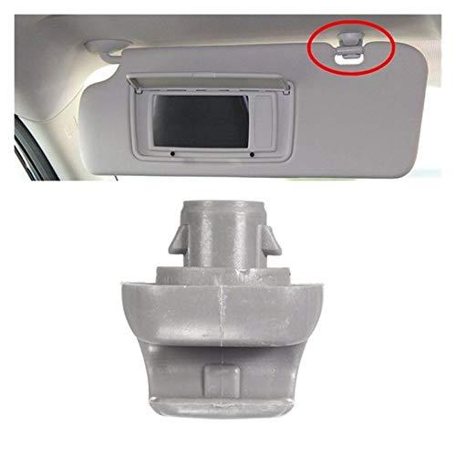 DJNCIA Alta fiabilidad Clip de Visor de Sol de Sunvisor de Coche For HON-DA/CR-V/Civic/Accord/Odyssey 1999-2011 88217-S04-003ZA Autopartes (Color : Gray)