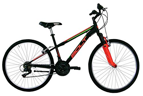 Hogan, Mountain Bike 27 Unisex-Adult, Nero, L