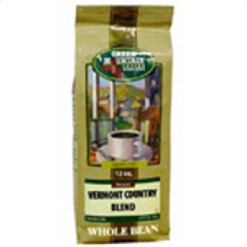 Green Mountain Coffee Roasters Fair Trade Vermont Country Blend Not cerified organic Whole Bean 12 oz. 225213