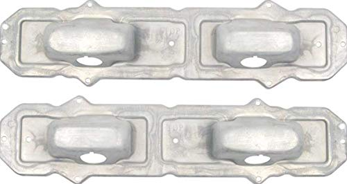 ORE 1967-1968 Chevy Camaro Stamped Steel Tail Light Housing Backing Plate Set