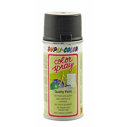 Dupli-Color 640629 Color-Spray, 150 ml, Schwarz Matt