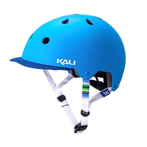 Kali Protectives 0250117217städtischen Fahrradhelm mit Visier Unisex Erwachsene, Blau Matt, Größe: L