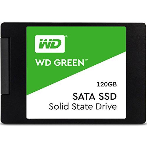"""Western Digital WDS120G2G0A Unità allo Stato Solido SSD Interna SATA 2.5"""", 120 GB, Green [Versione 2018]"""