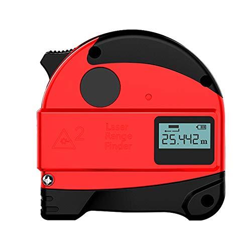 ASWT-digitale meetlint, startpagina infrarood hoge precisie afstandsmeter LCD-digitaal display USB Charge staal bandmaat smart-liniaal voor houten liniaal
