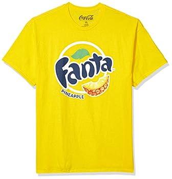 Coca-Cola Short Sleeve Crew T-Shirt Pineapple Fanta/Yellow X-Large