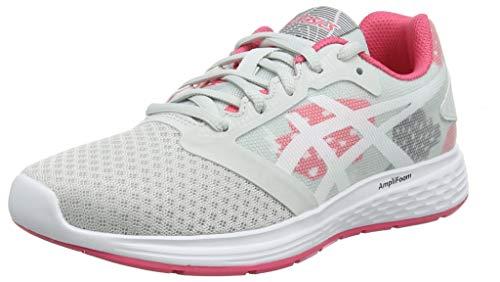 Asics Patriot 10 GS SP, Zapatillas de Running para Niños, Multicolor (Glacier Grey/Pink Cameo 022), 39 EU