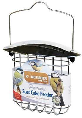 Kingfisher BF022 Deluxe Suet Cake Feeder from Bonnington Plastics Ltd