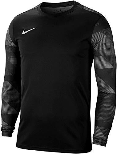 Nike Park IV - Camiseta de portero para niño, color negro, gris, tamaño medium