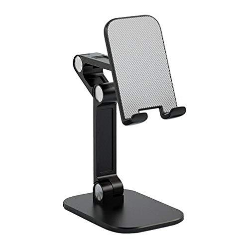 Chnrong Soporte para teléfono móvil, ángulo ajustable, soporte retráctil para teléfono móvil para grabación Viedo y transmisión en vivo, soporte universal para teléfono móvil