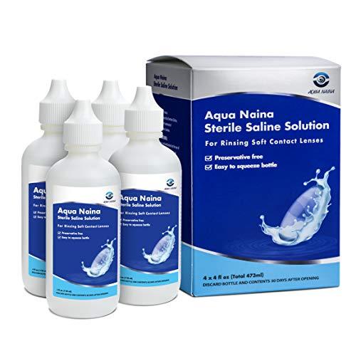 Aqua Naina - Preservative Free Sterile Saline...