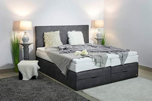 Boxspringbett mit Bettkasten in Handarbeit gefertigt Bild 2*