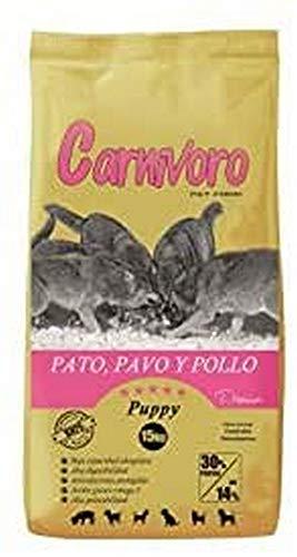 CARNIVORO Puppy Pato,Pavo,Pollo 15 kg