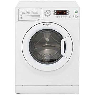 Hotpoint WDXD8640P A Rated Freestanding Washer Dryer - White