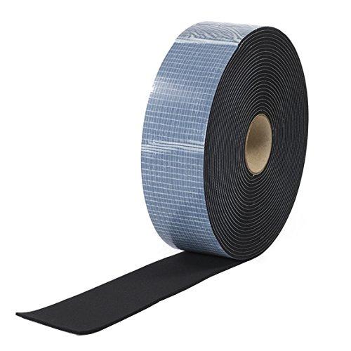 EPDM Zellkautschuk 40mmx2mm einseitig selbstklebend schwarz 10m Rolle