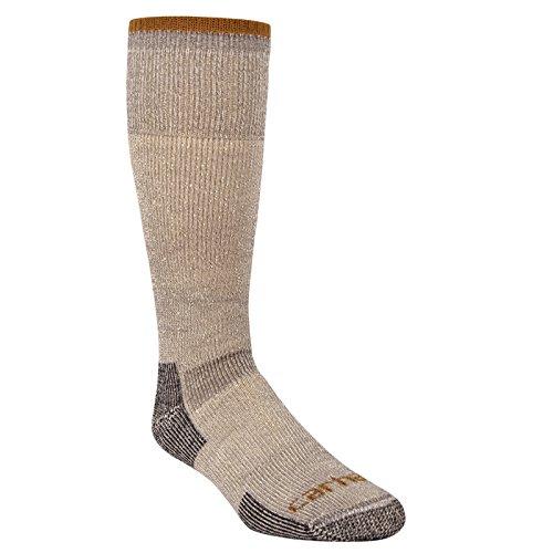 Carhartt Arctic Wool Heavyweight Boot Sock SOCKS, Heather Grey, XL para Hombre