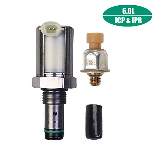 GaofeiLTF 6.0 IPR & ICP Fuel Injection Pressure Regulator Valve & Sensor for 2003-2010 Ford 6.0L Powerstroke Diesel Excursion F250 F350 F450 E350 E450