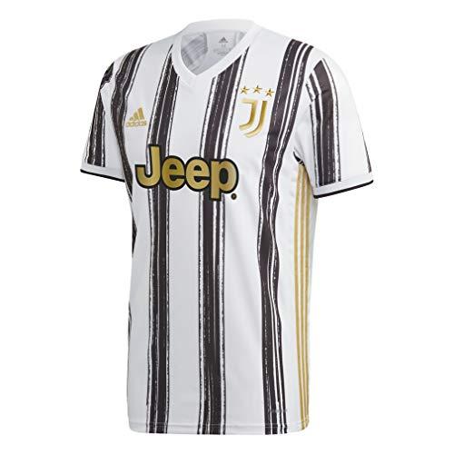 adidas Juventus FC Temporada 2020/21 JUVE H JSY Camiseta Primera equipación, Unisex, Negro, S