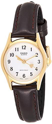 Casio LTP1094Q7B5 –Reloj de Pulsera de Mujer, Correa de Piel
