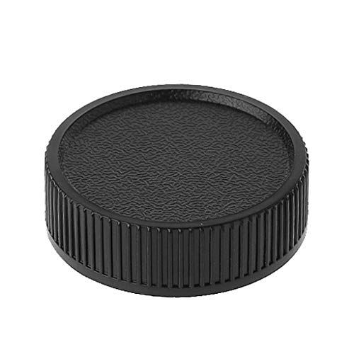 JERKKY Rear Lens Cap Screw Mount voor Universal 39mm Leica M39 L39 Black
