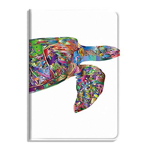 Sea Turtle Animal Marine Funda para iPad Air 4ª generación 10.9 pulgadas 2020, multiángulo de visualización Folio Smart Stand Cover Cover Auto Sleep/Wake, Ocean Underwater