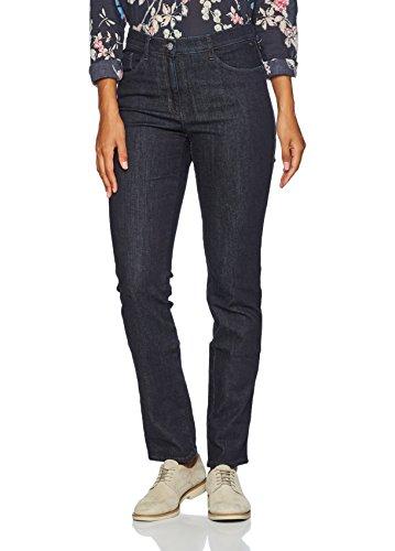 BRAX Mary Crystal Romance Damenjeans: Slim Fit Jeans im 5-Pocket-Style, Blau (Clean Raw Blue 22), Gr. W36/L30 (Herstellergröße: 46K)