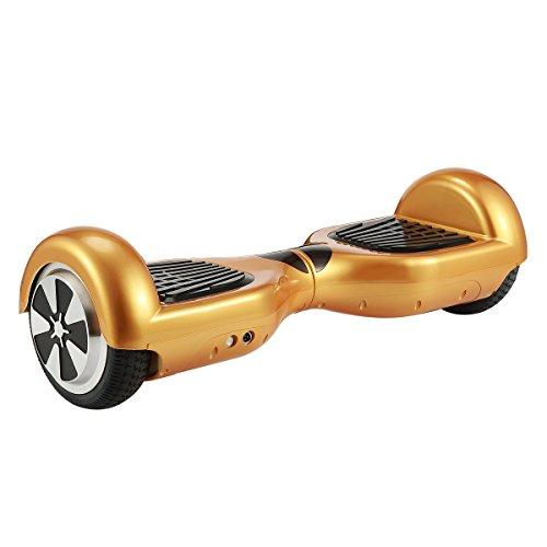 """WINDEK Hover Scooter Board Scooter Elettrico 6.5\"""" Autobilanciato Hover-Board con Auto-bilanciamento Altoparlante Bluetooth Luce LED su Ruote Borsa da Trasporto e Controllo Remoto per Bambini e Adulti"""