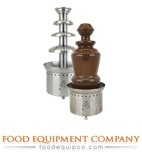 "Buffet Enhancements 1BMFCF35K22 3 Tier Chocolate Fountain, 35"", Stainless Steel"