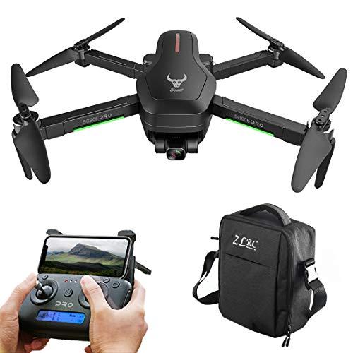 YOU339 SG906 PRO - Drone pieghevole per aeroplani a 2 assi, GPS anti-shake-Gimbal-4K HD, con riconoscimento del flusso ottico HD, per aerei, custodia